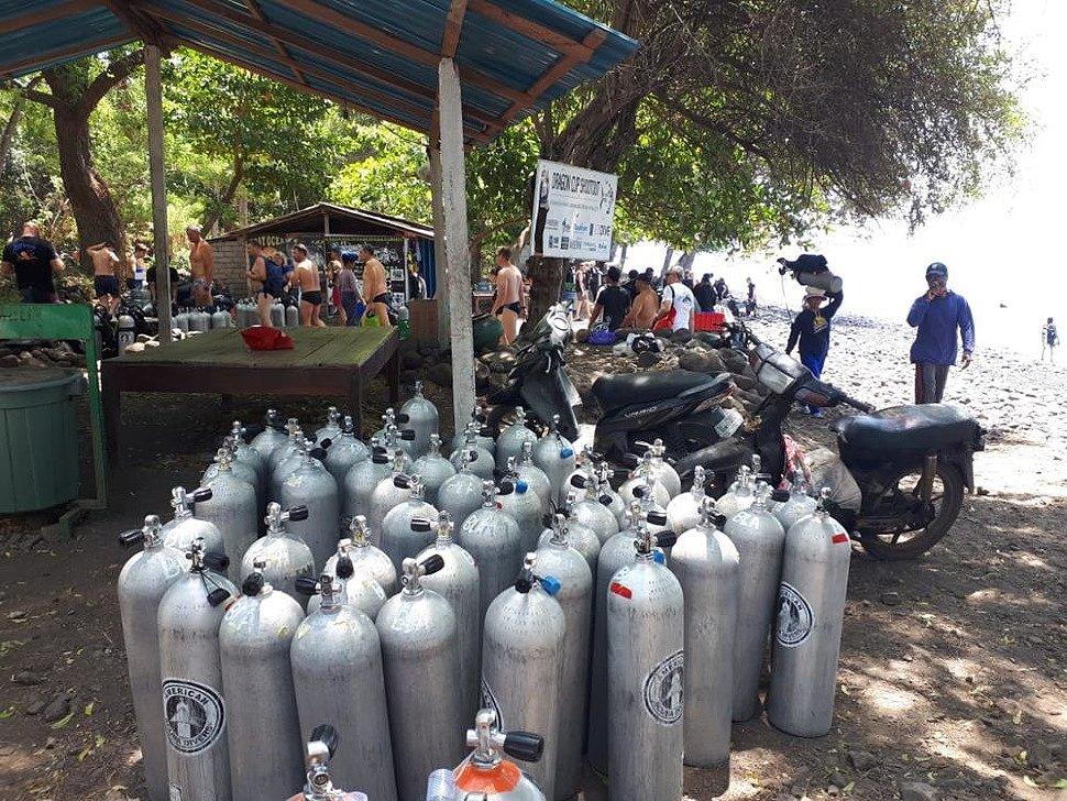 дайвинг на Бали фото