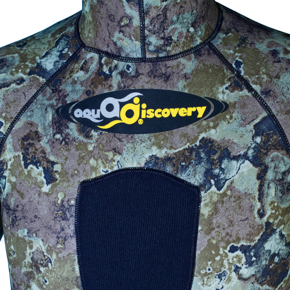 Гидрокостюм Aquadiscovery Calcan Camo Green 9мм