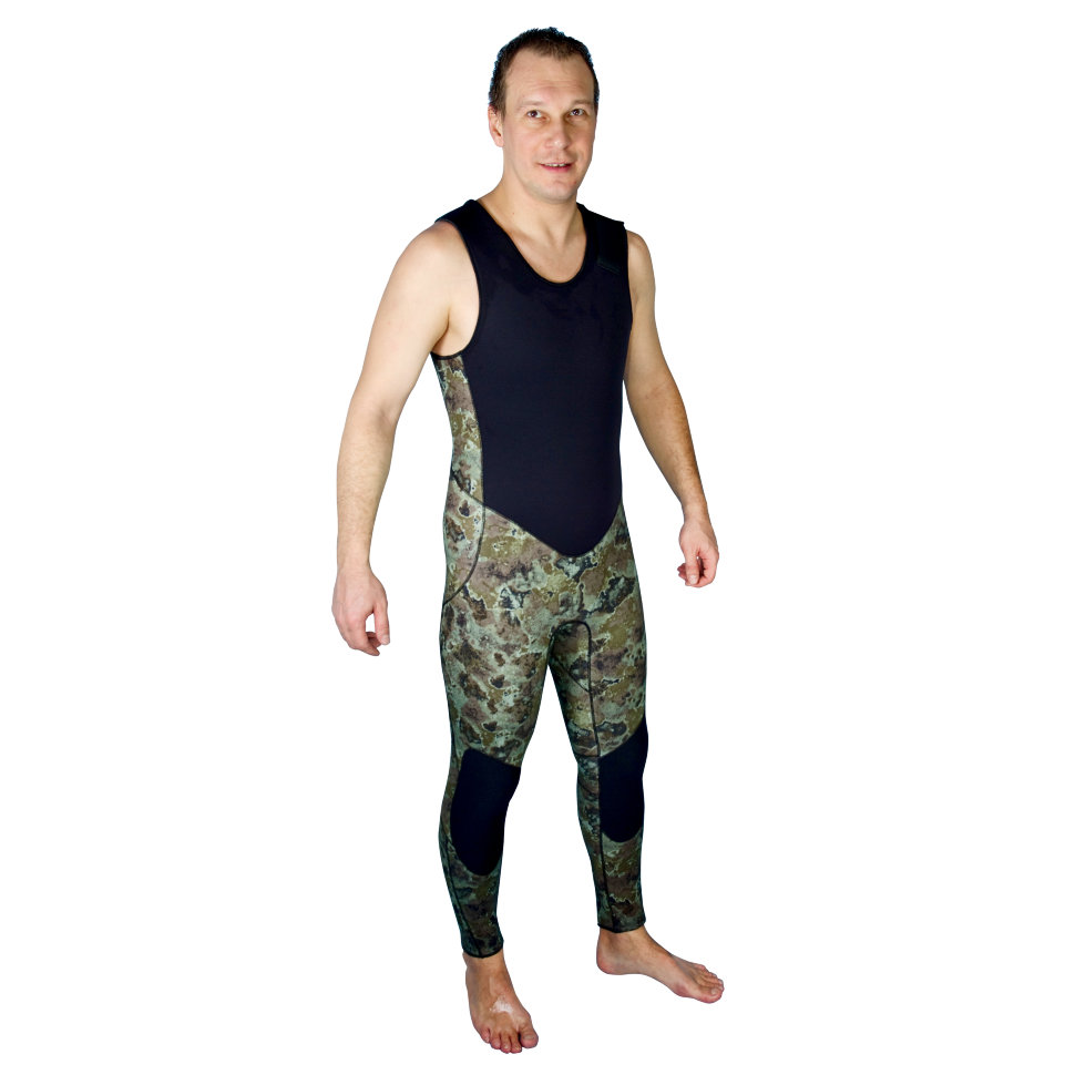 Гидрокостюм Aquadiscovery Calcan Camo Green 5мм